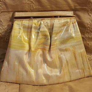 Ande` Bags - Vintage Ande` Small Ruched Fabric Clutch